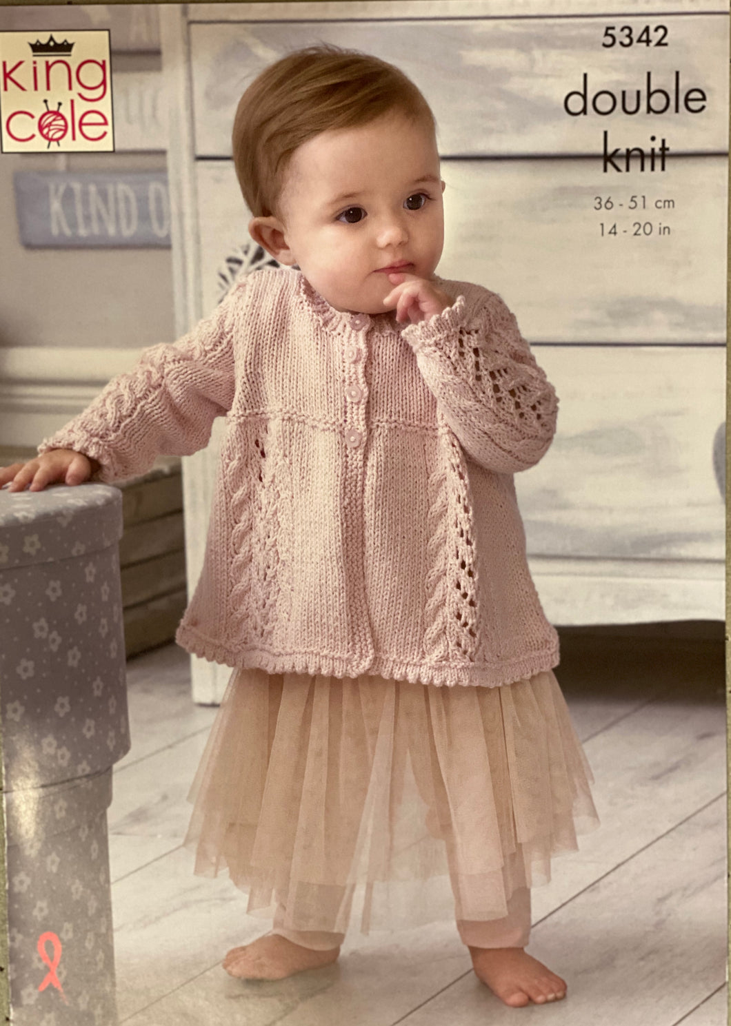 King Cole Baby and Nursery DK Pattern - 5342