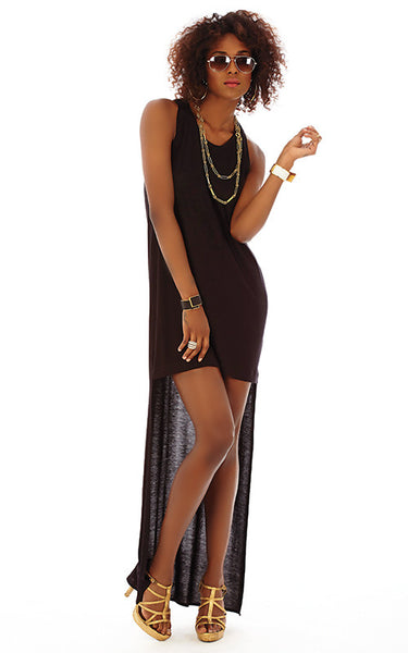 Hi-Lo Racerback Dress