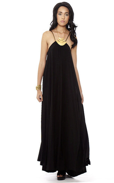 Convertible Maxi w/ High Slit