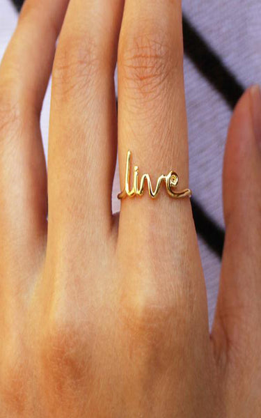 Jamie Thin Live Ring