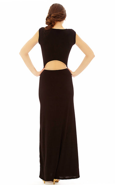 Midi Cut-Out Dress