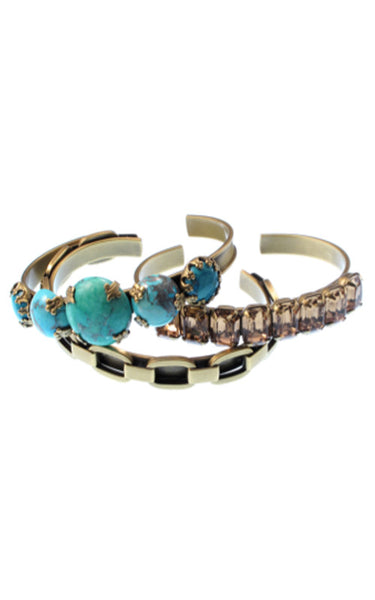 Morgan Cuff Bracelet (Set of 3)