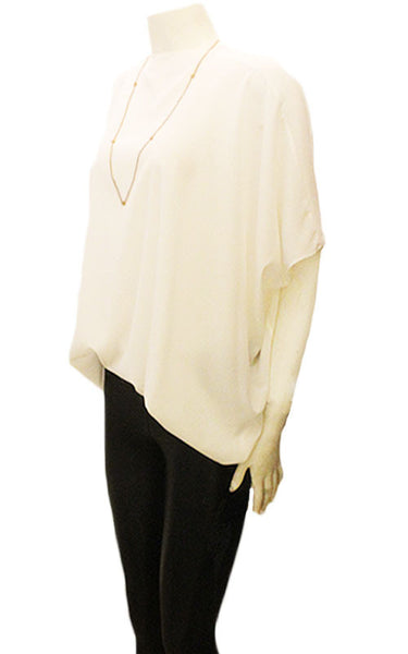 Olivia Silk Butterfly Top
