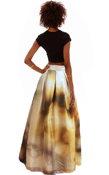 Autumn Sky Ball Gown Skirt