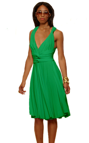 Convertible Wrap Dress                             (Kelly)
