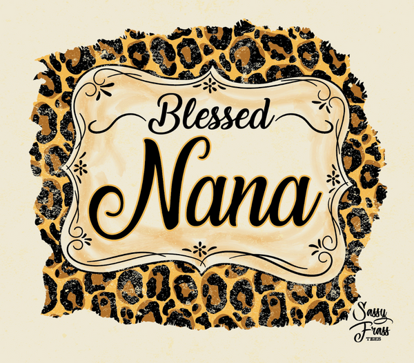 Blessed Nana - Pineapple Post