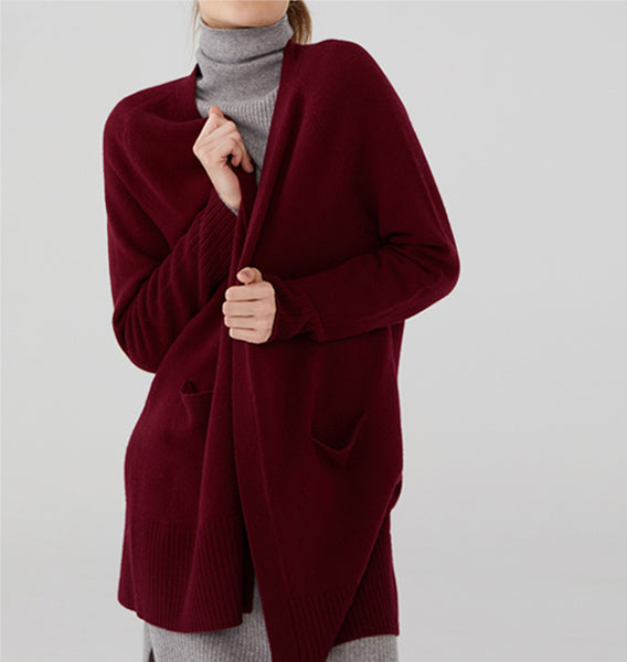 revive cashmere soft cardigan