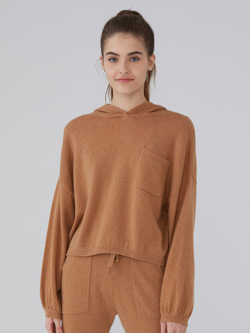 Cashmere Oversized Crop Sweater