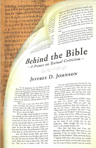 Behind the Bible