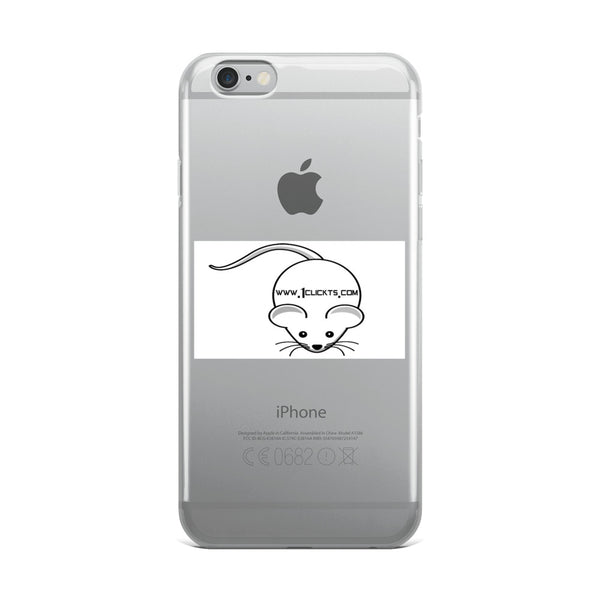 iPhone Case With www.1clickts.com logo