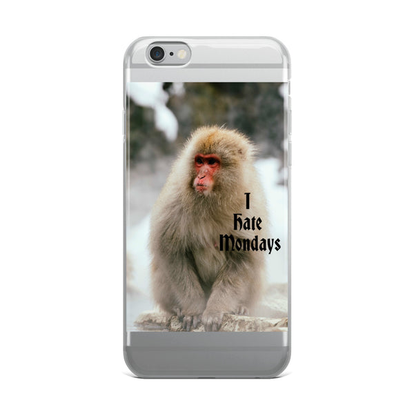 #I hate Monday! Monkey iPhone Case