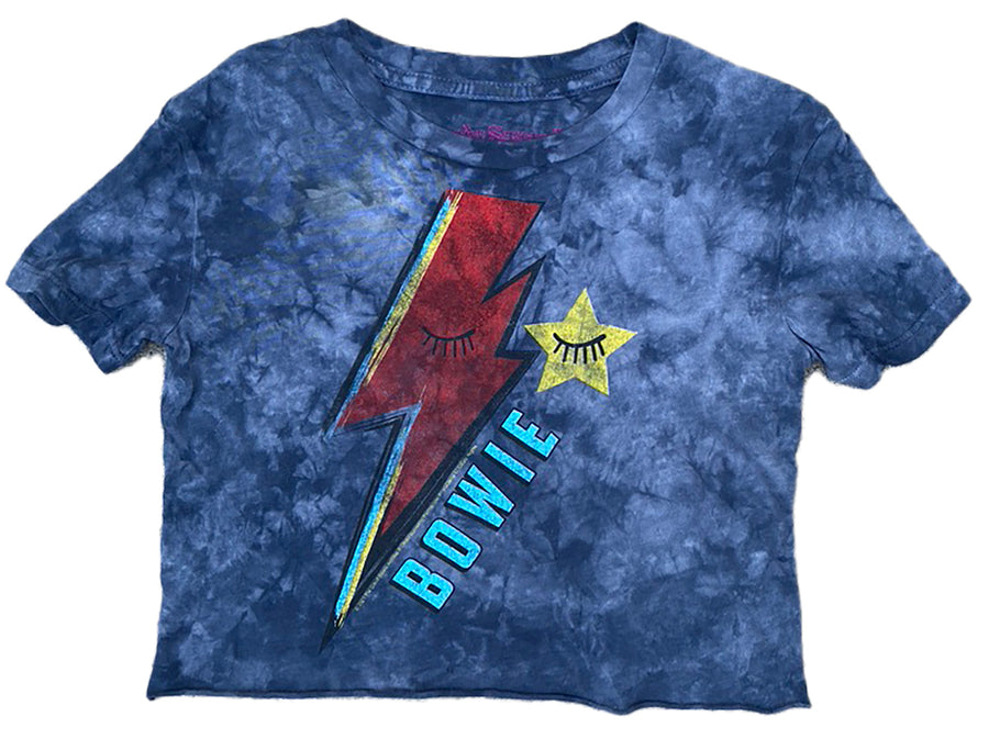 David Bowie Not-Quite Crop Tee