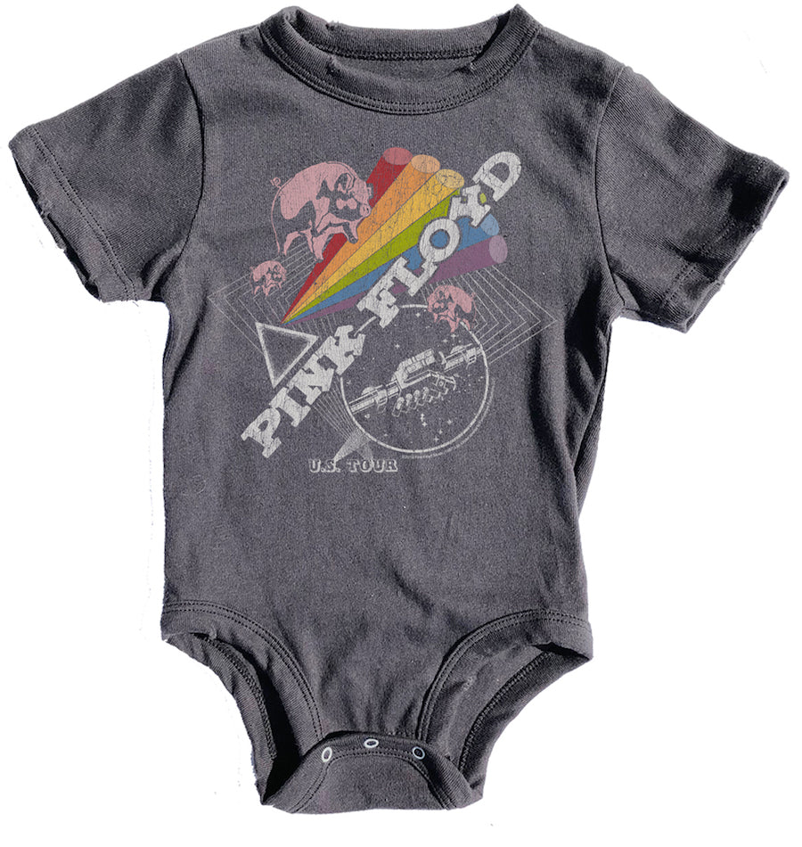 Pink Floyd Distressed Onesie