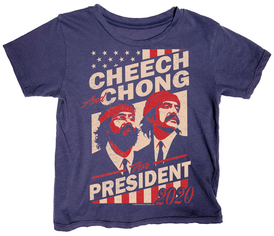 Cheech & Chong For President Simple Tee
