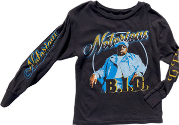 Notorious BIG Long Sleeve Tee