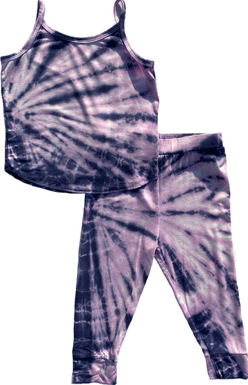 Sugaree Tie-Dye Tank Base Layer Set