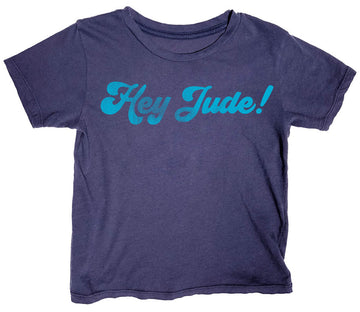 Hey Jude Simple Tee Indigo