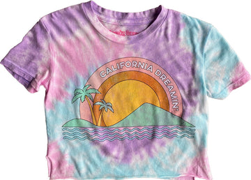California Dreaming Not-Quite Crop Tee