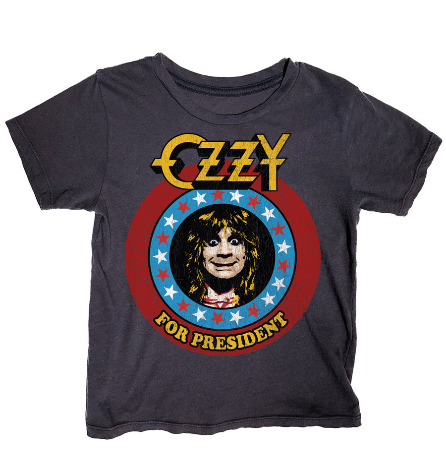 Ozzy For President Simple Tee