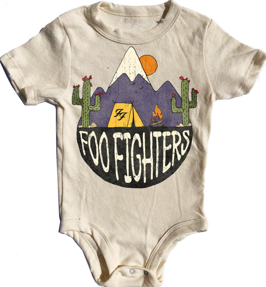 Foo Fighters Short Sleeve Simple Onesie