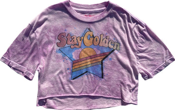 Stay Golden Slouch Tee