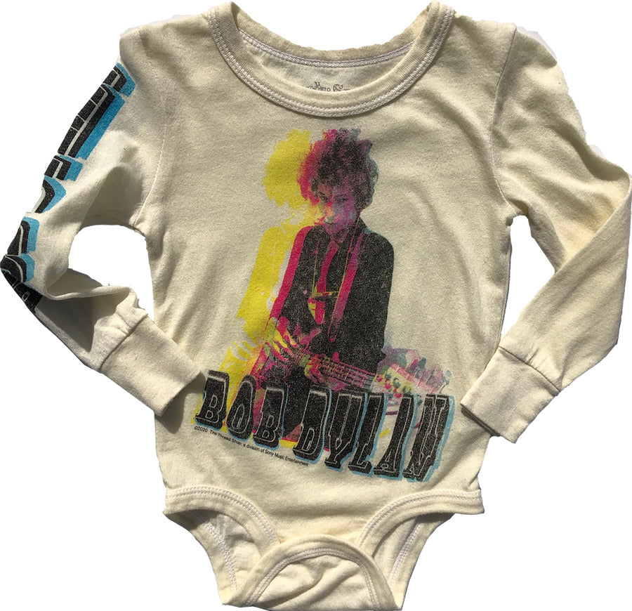 Bob Dylan Long Sleeve Onesie
