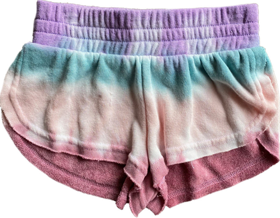 Morning Dew Tie-Dye Terry Short