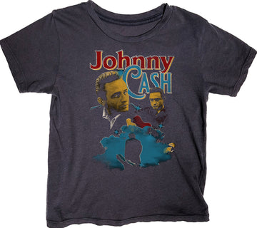 Johnny Cash Short Sleeve Simple Tee