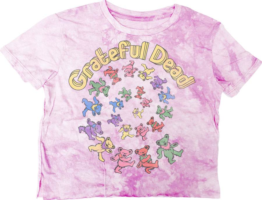Grateful Dead Bear Not-Quite Crop Tee