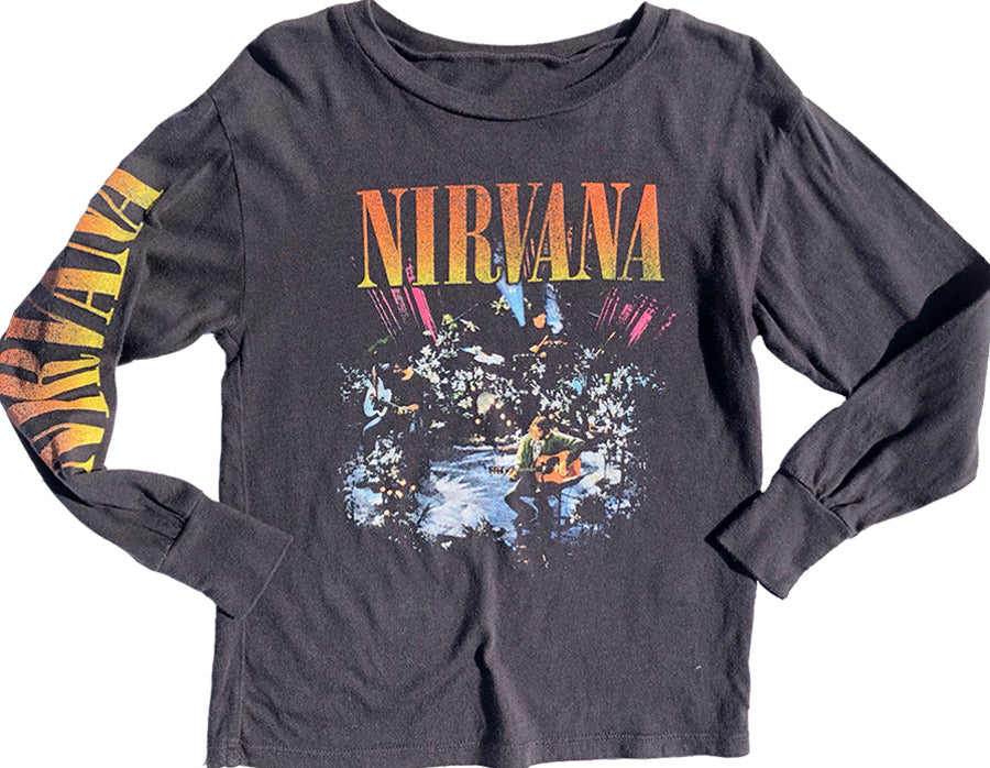 Nirvana Long Sleeve Tee