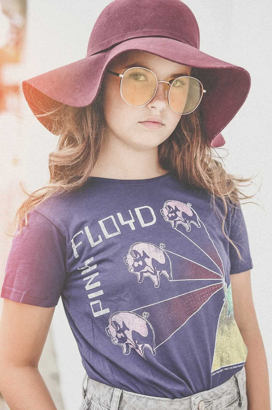 Pink Floyd Short Sleeve Simple Tee