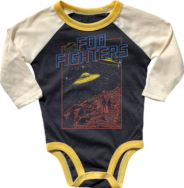 Foo Fighters Raglan Onesie