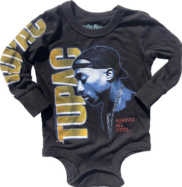 Tupac Long Sleeve Onesie