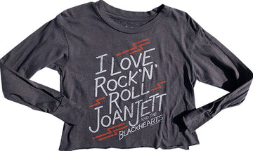 Joan Jett Crop Tee
