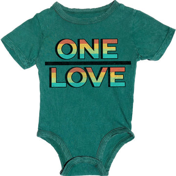 One Love Simple Onesie