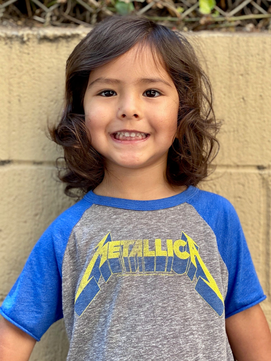 Metallica Short Sleeve Raglan Tee