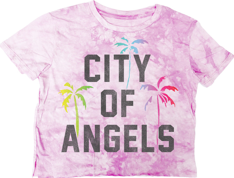 City of Angels  Not-Quite Crop Tee