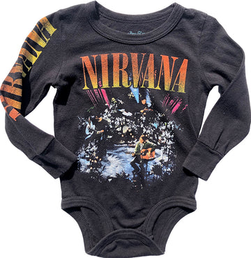 Nirvana Long Sleeve Onesie