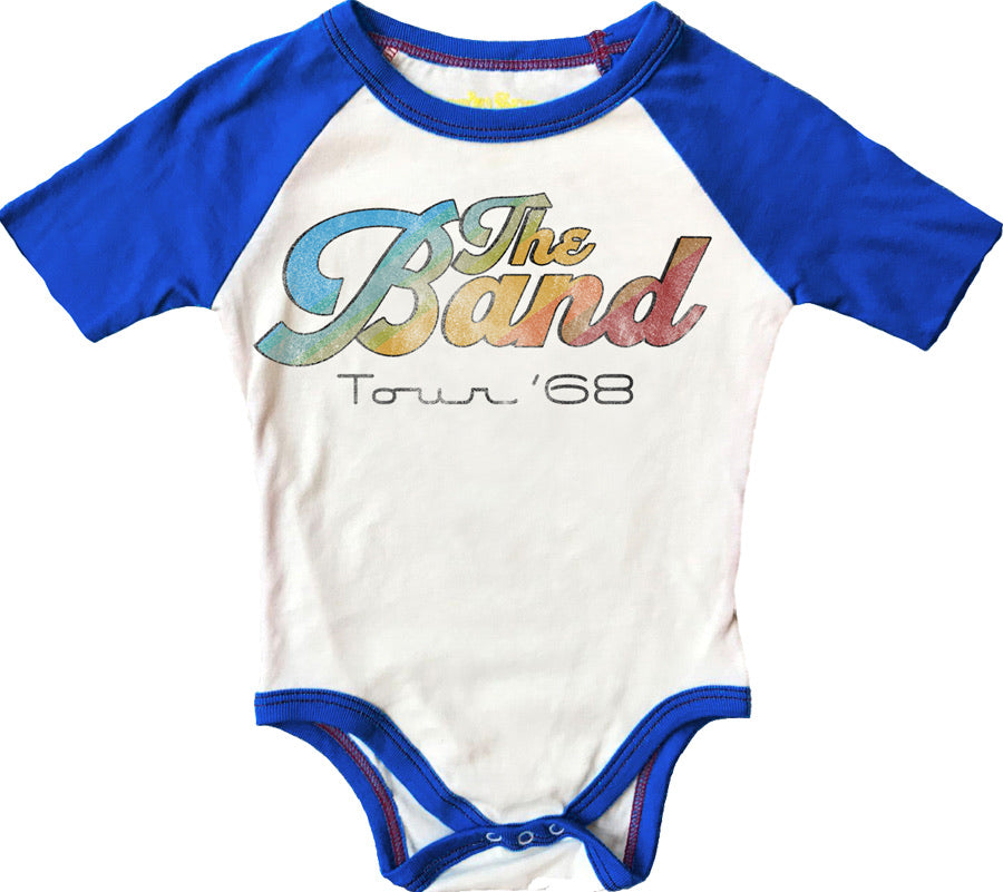 The Band Short Sleeve Raglan Onesie