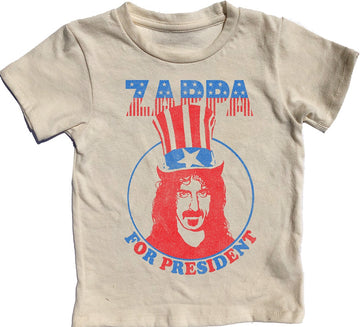 Frank Zappa For President Simple Tee