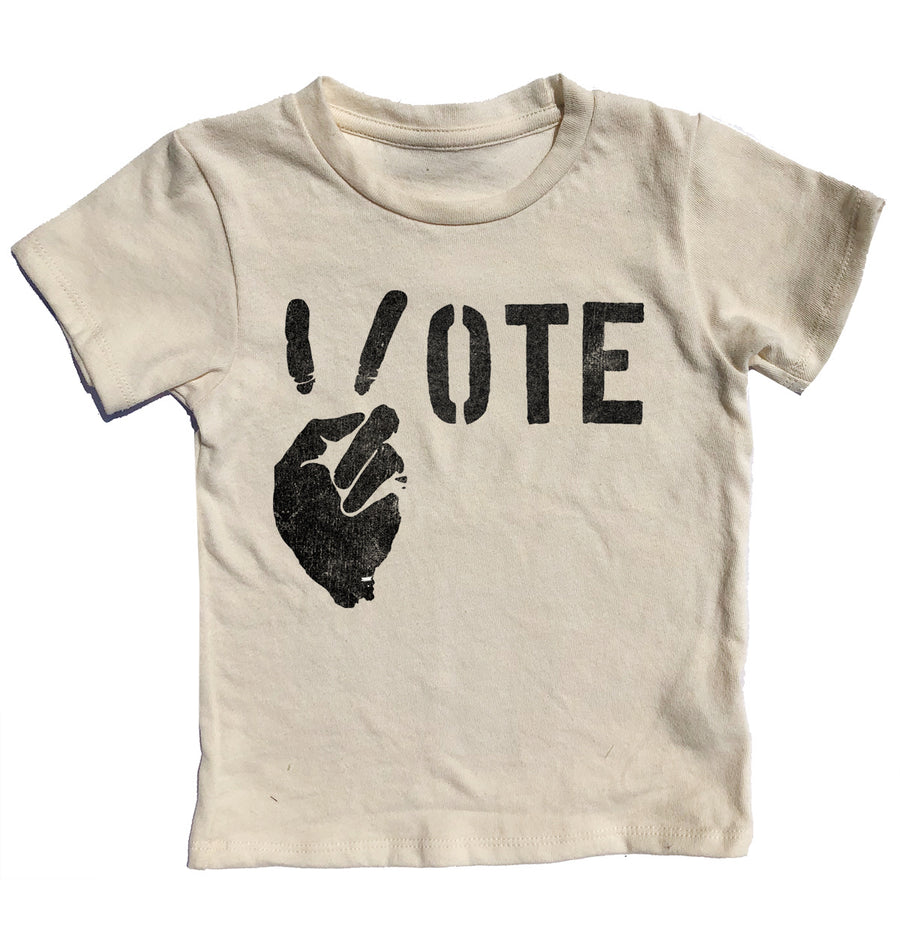 Vote For Peace Simple Tee