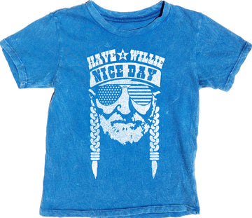 Have A Willie Nice Day Short Sleeve Simple Tee