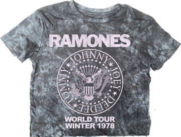 Ramones Not-Quite Crop Tee