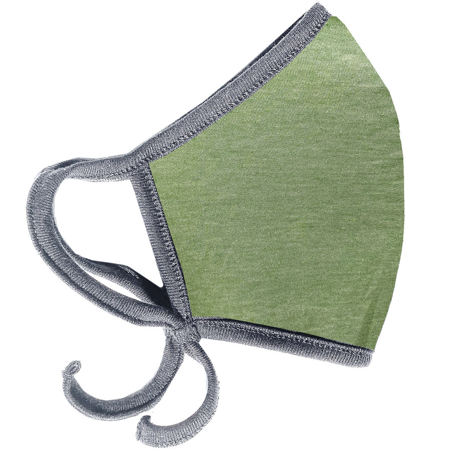 Army Green & Grey Mask