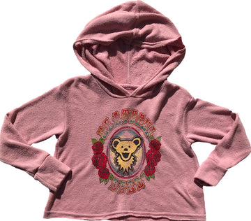 Grateful Dead Crop Hoody