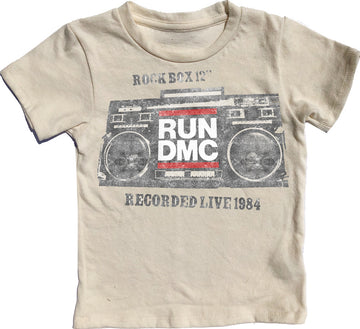Run DMC Short Sleeve Simple Tee