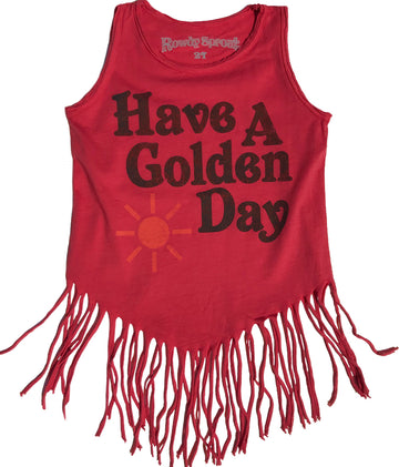Have A Golden Day Fringe Tank