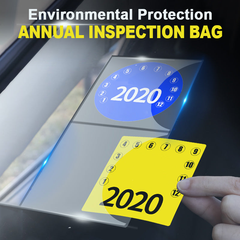 Environmental Protection Annual Inspection Bag(2 PCS)