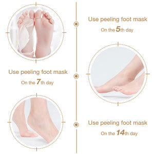 Professional Foot Peel Mask Exfoliant(50% OFF)