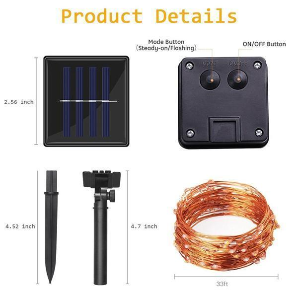 Solar lamp string(50% OFF)